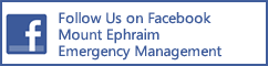 Follow Mount Ephraim Emergency Management Department on FaceBook